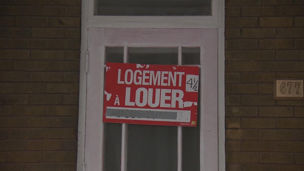 Un logement à louer à Québec.