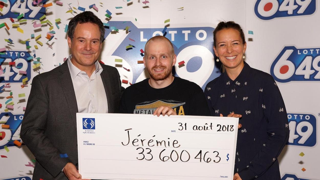 Loto-Québec a remis un gros lot de plus de 33 millions $.