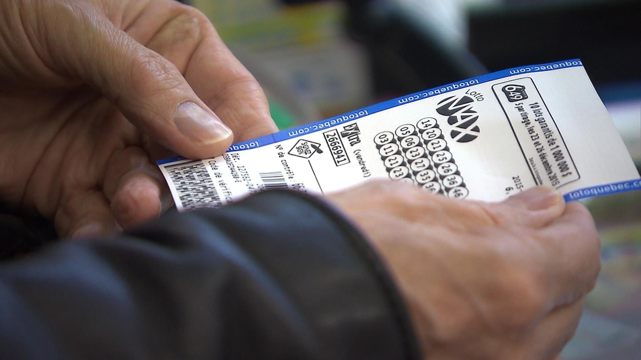Un billet de Lotto Max