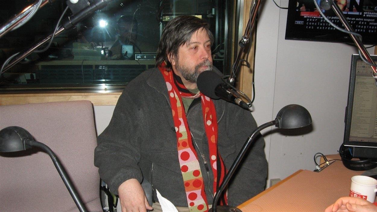 Le producteur exécutif des Productions Rivard, Louis Paquin.