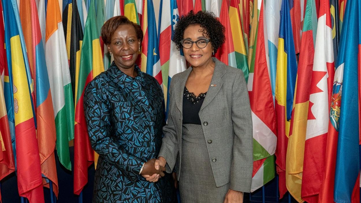 Louise Mushikiwabo et Michaëlle Jean