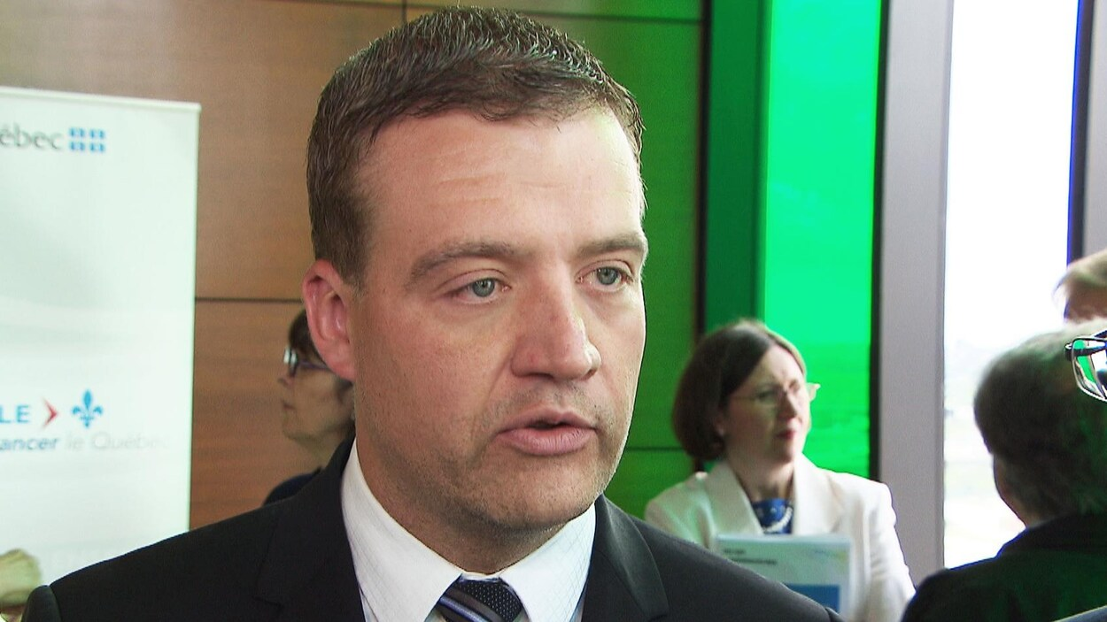 Le ministre de la Culture et des Communications, Luc Fortin