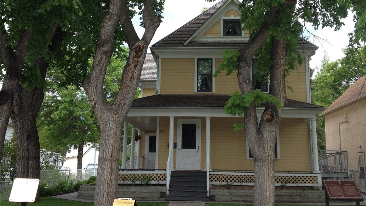 La Maison Gabrielle-Roy, dans le quartier Saint-Boniface à Winnipeg, le 7 juin 2013.