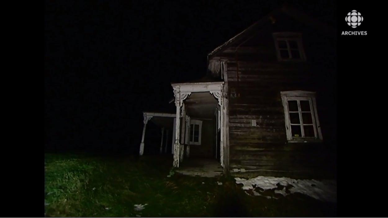 Vieille maison abandonnée.