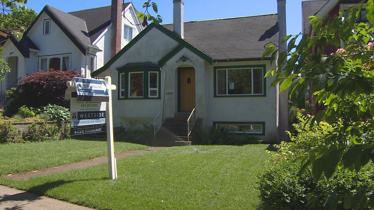 Une maison unifamiliale de Vancouver