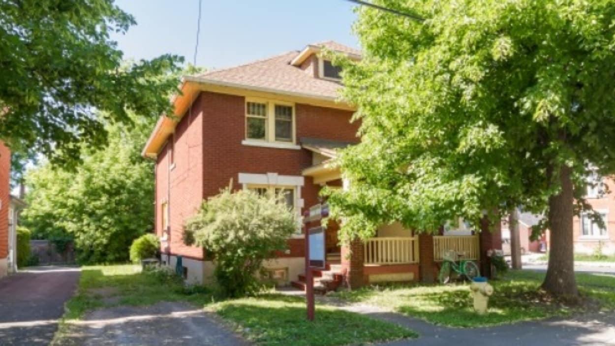 L'une des 357 maisons ajoutées au registre du patrimoine, sur la rue Glen