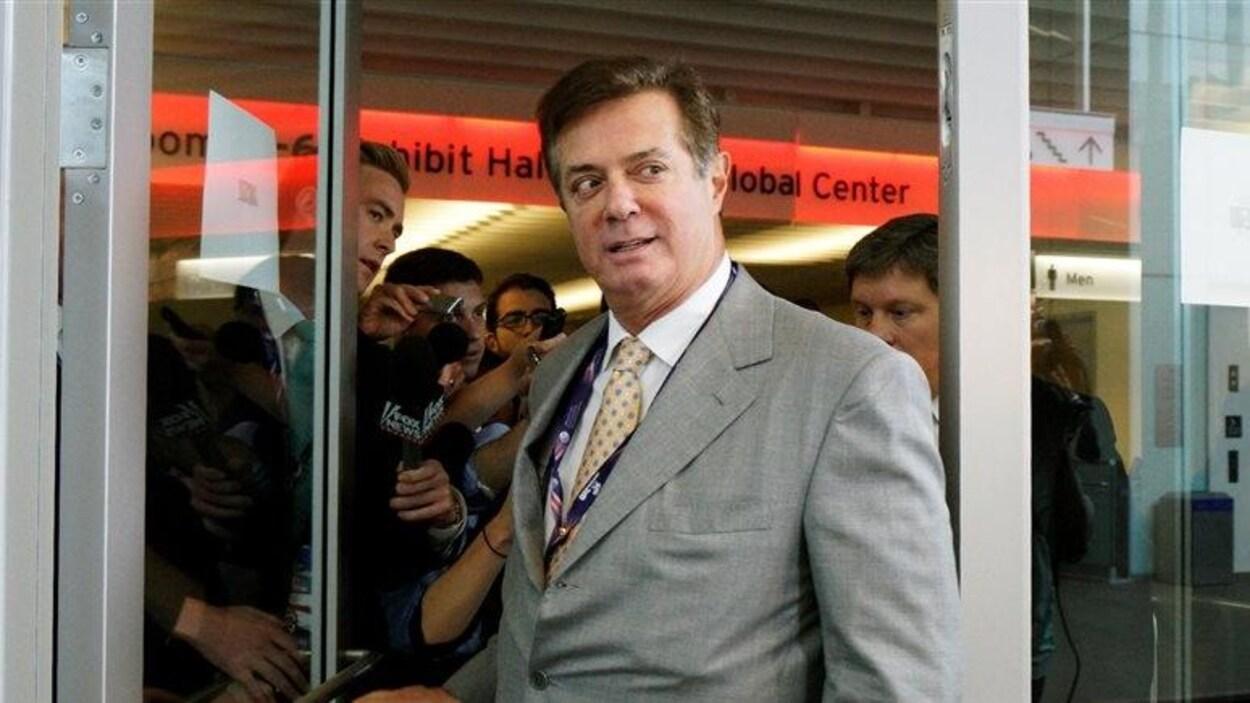 Paul Manafort lors de la convention républicaine à Cleveland en juillet 2016
