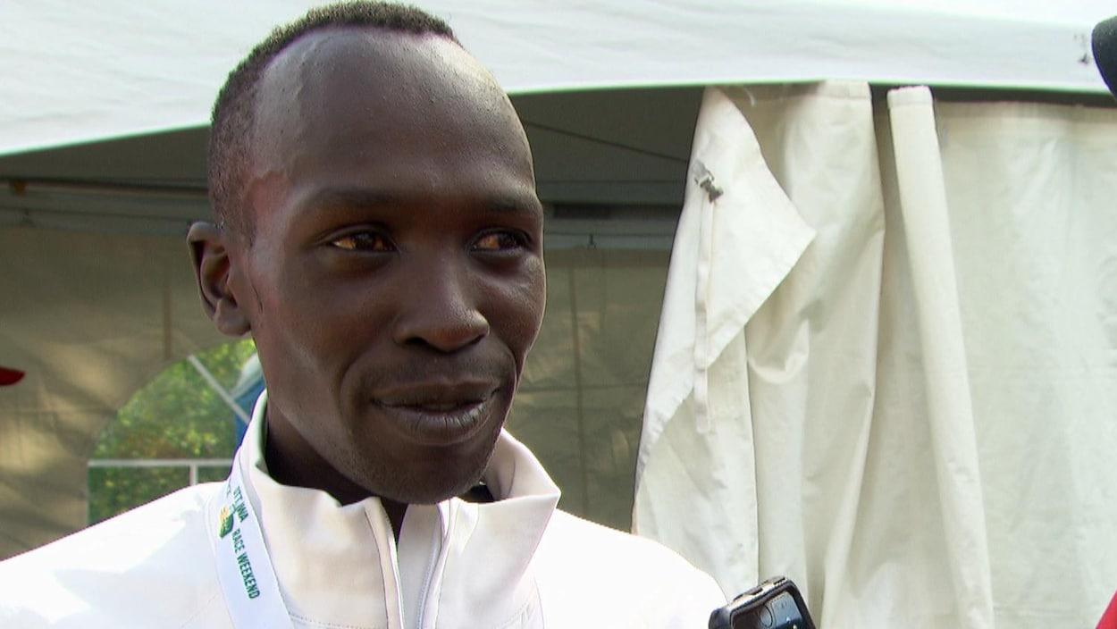 L'athlète kenyan Albert Korir.
