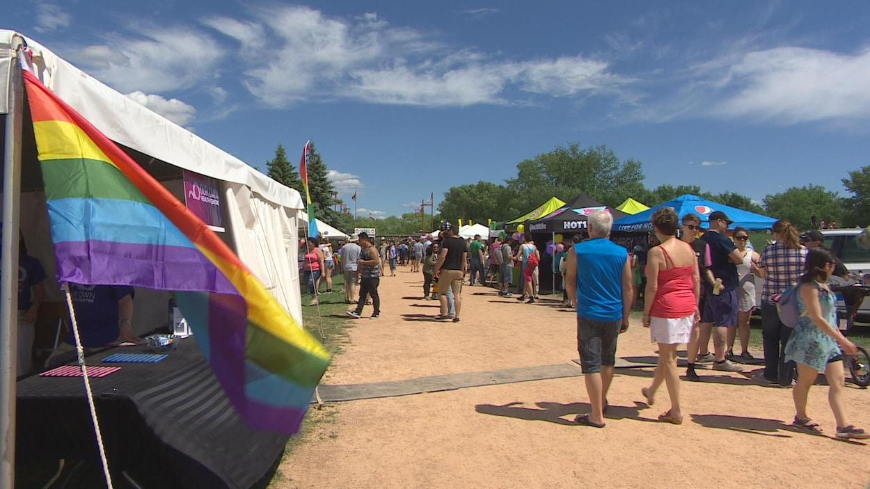 La première Marche transgenre s'est tenue à Winnipeg samedi 3 juin.