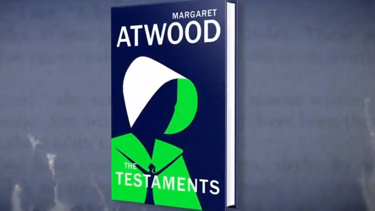 Couverture du nouveau livre de Margaret Atwood.