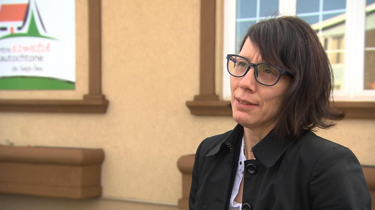 Maria-Louise Nanipou, ex-directrice générale du Centre d'amitié autochtone de Sept-Îles