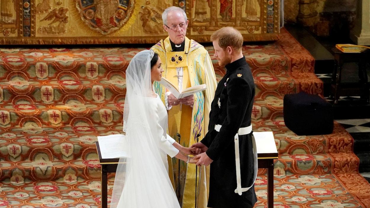 Mariage royal  le prince Harry et Meghan Markle se sont dit oui