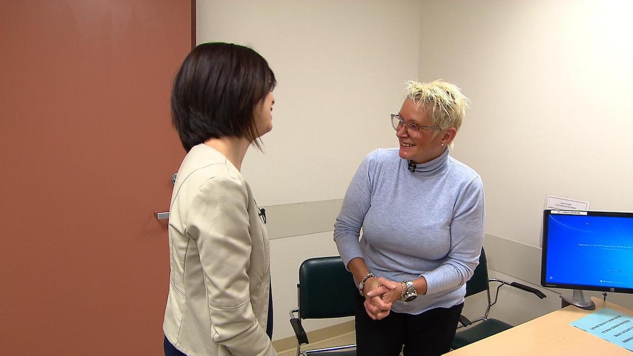 rencontre avec une personne atteinte de cancer AJ datation histoire