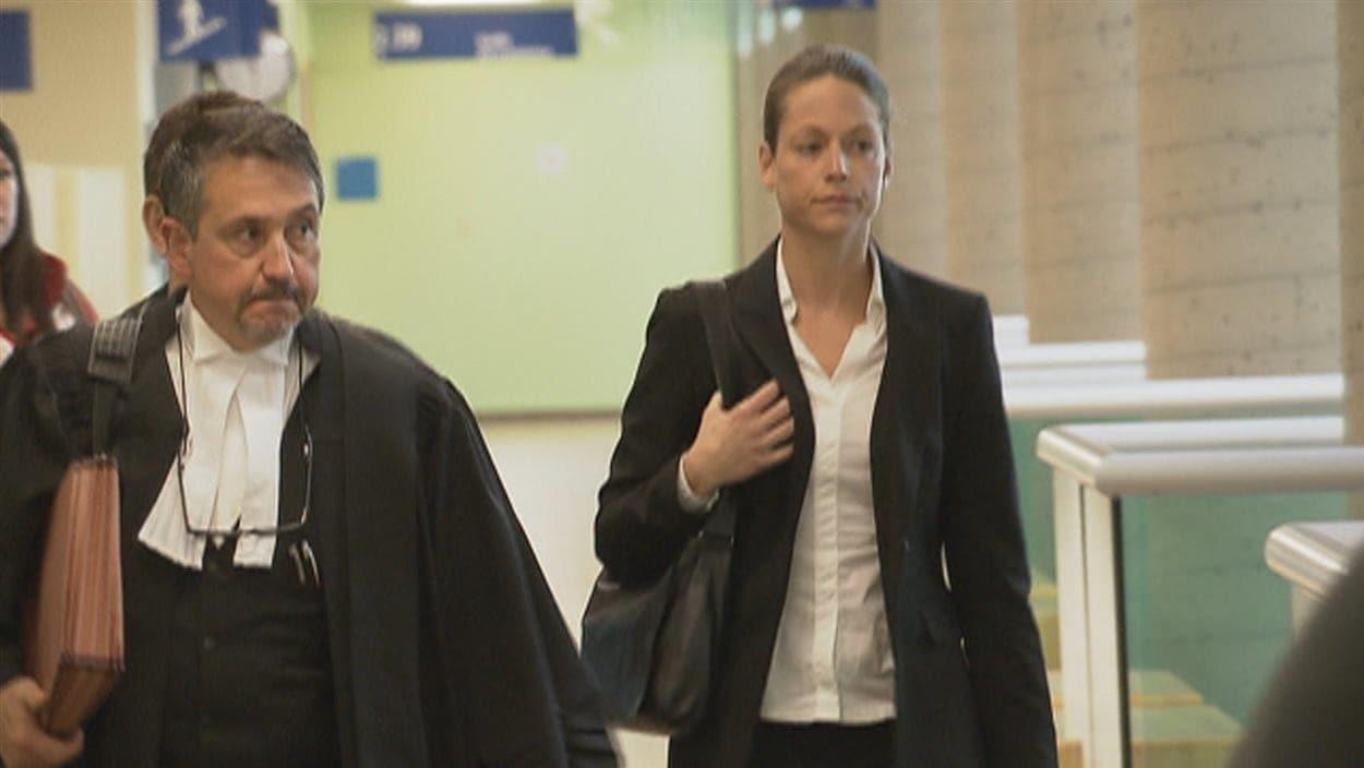 Marie-Pierre Tremblay avait plaidé coupable au Palais de justice de Québec