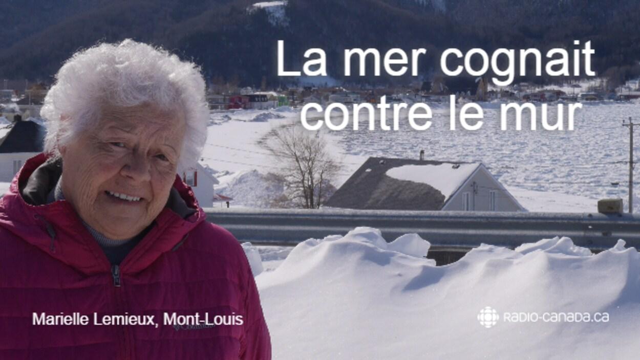 Marielle Lemieux, de Mont-Louis