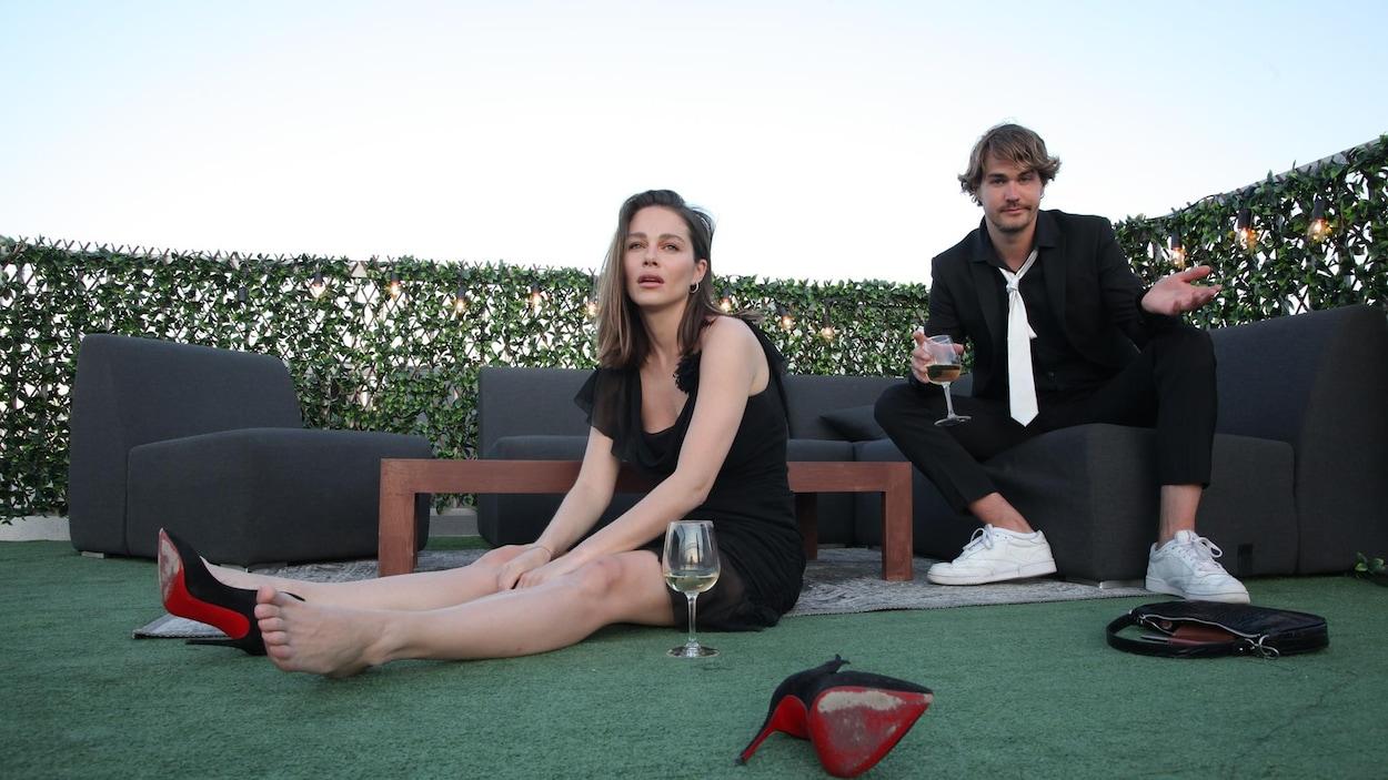 Maripier Morin et Julien Lacroix organisent un après-bal en ligne