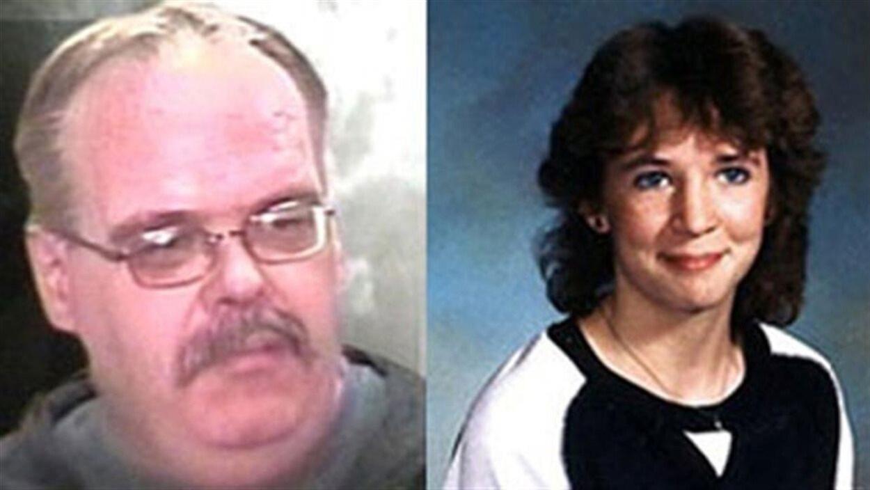Un portant des lunettes à gauche, et à droite, une jeune fille aux cheveux noirs
