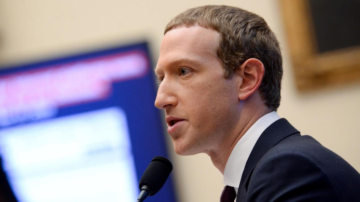 Mark Zuckerberg, patron de Facebook.