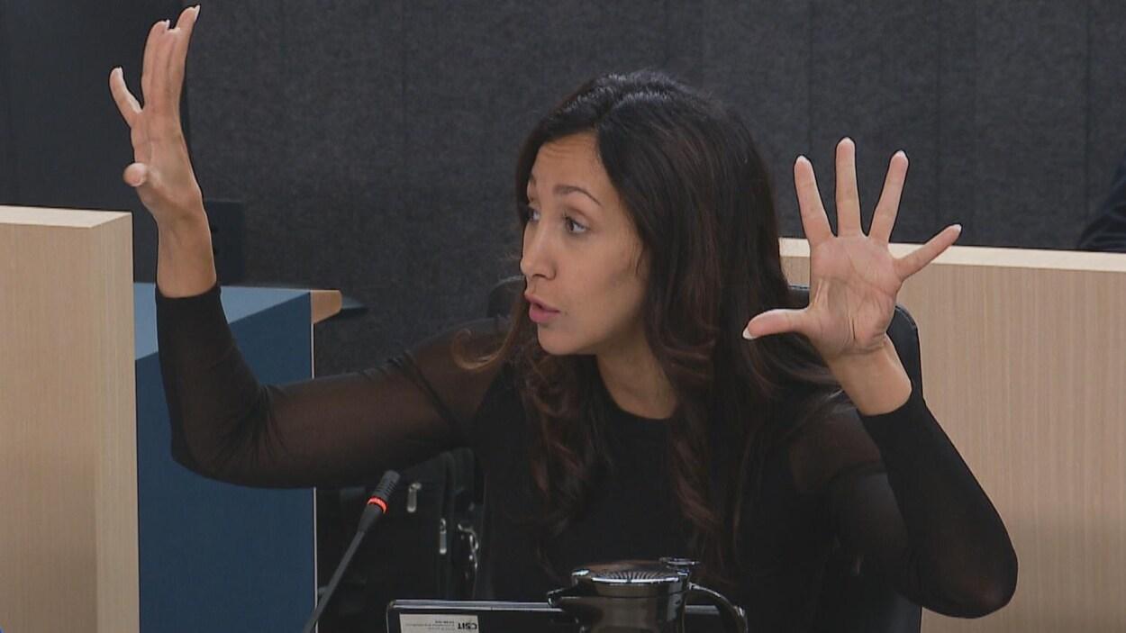 La députée libérale de Saint-Laurent Marwah Rizqy.