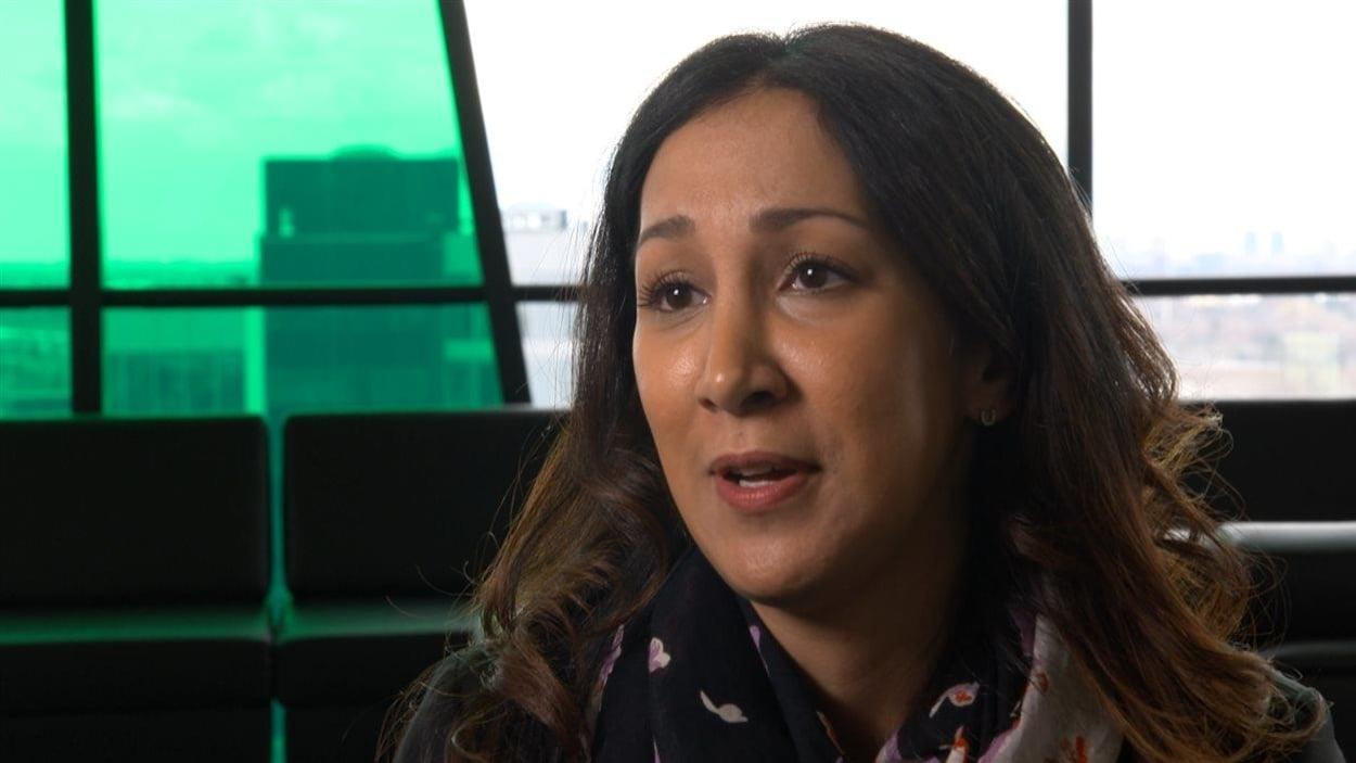 Marwah Rizqy, fiscaliste et professeure à l'Université de Sherbrooke.