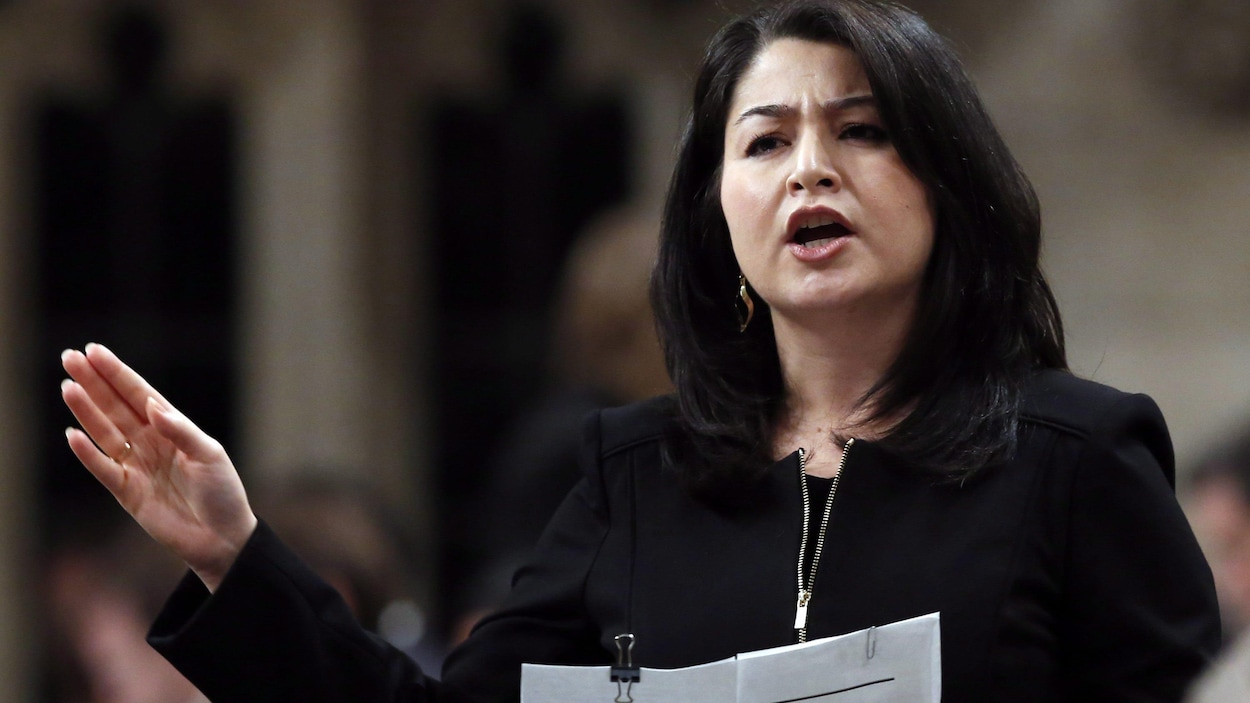 La ministre de la Condition féminine, Maryam Monsef