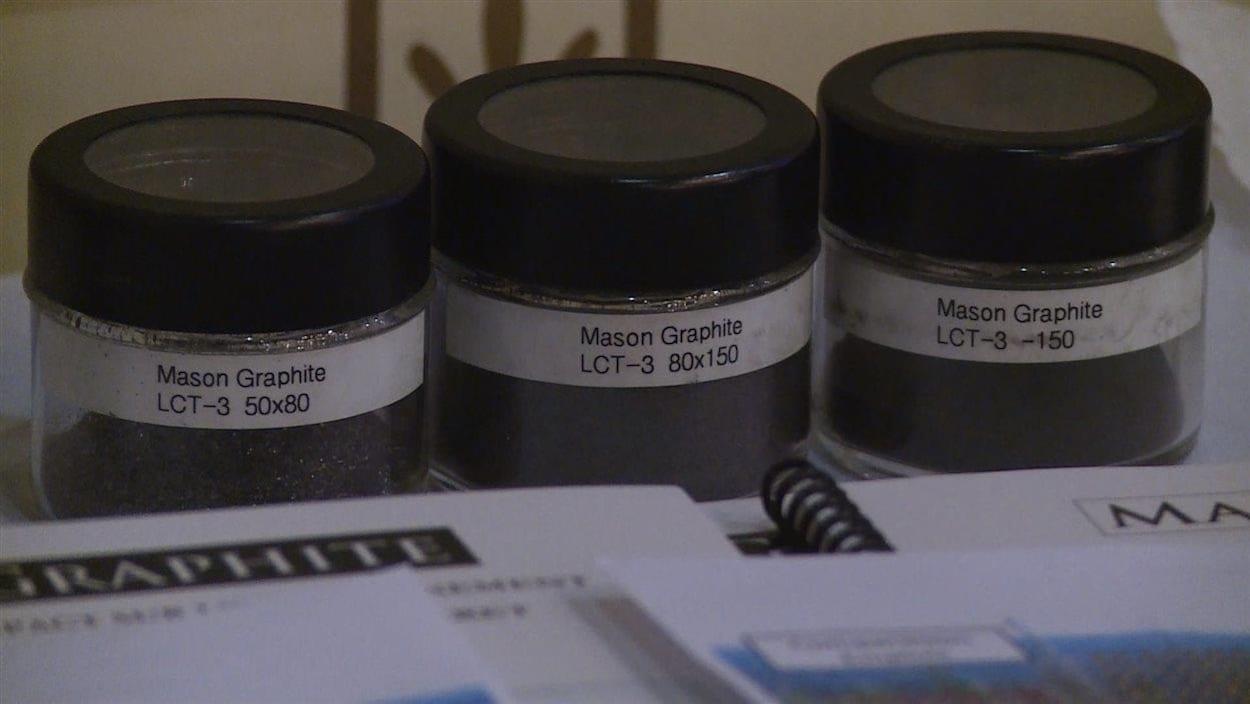 Mason Graphite mène une étude pour implanter une usine de deuxième transformation à Baie-Comeau.
