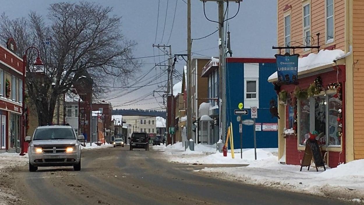 La rue Saint-Jérôme à Matane