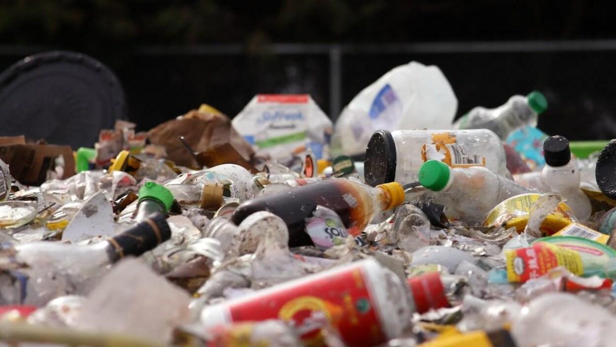 Des matières recyclables