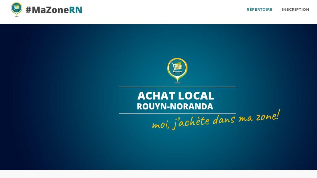 Les commerçants de Rouyn-Noranda profitent désormais d'une toute nouvelle vitrine pour se mettre en valeur.
