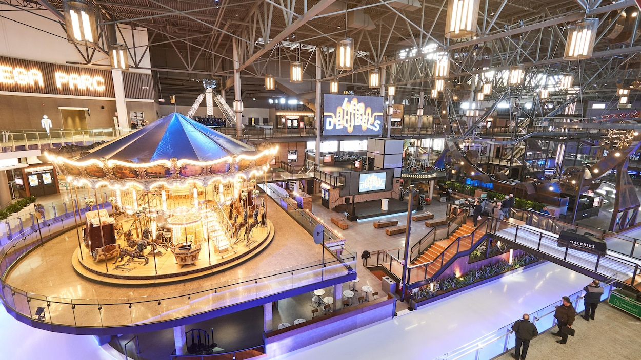Le nouveau Méga Parc des Galeries de la Capitale