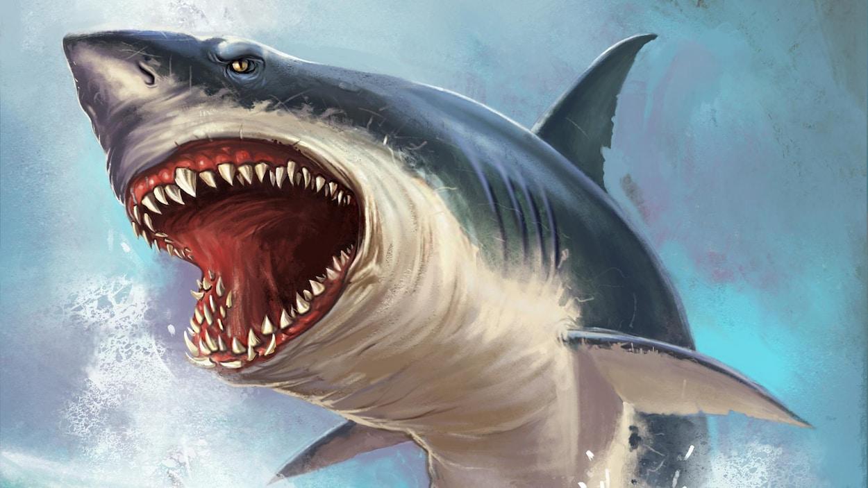 Une représentation artistique du poisson géant