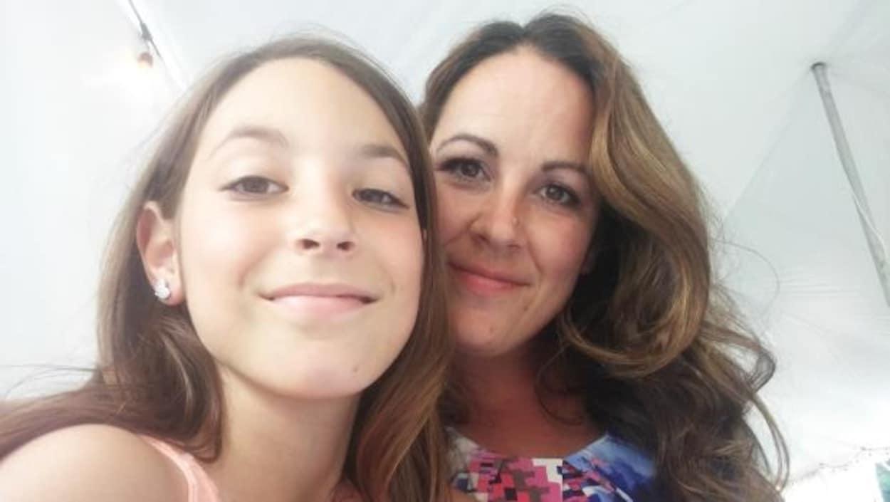 Melissa Lopez et sa fille de 10 ans, Elianna
