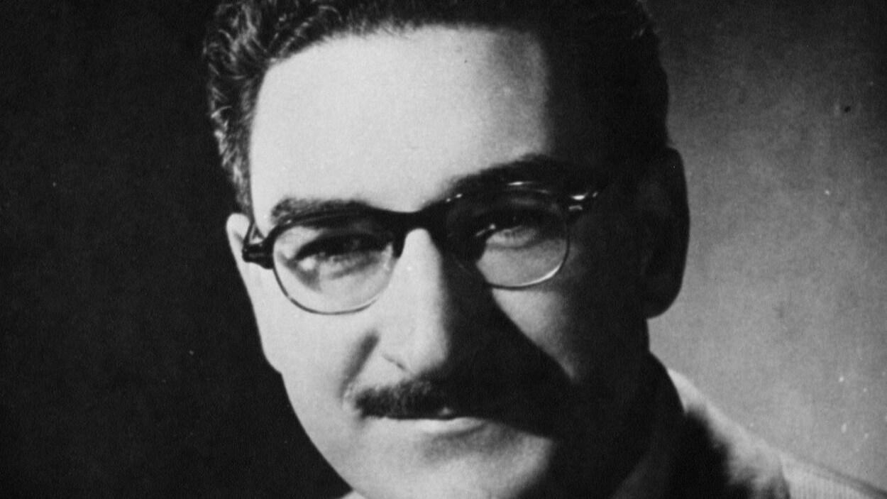 Portrait du syndicaliste Michel Chartrand.