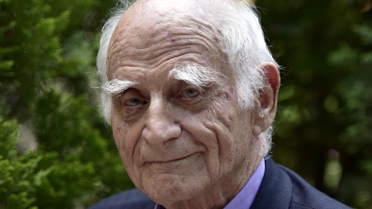 Le philosophe français Michel Serres, à Madrid en 2016.