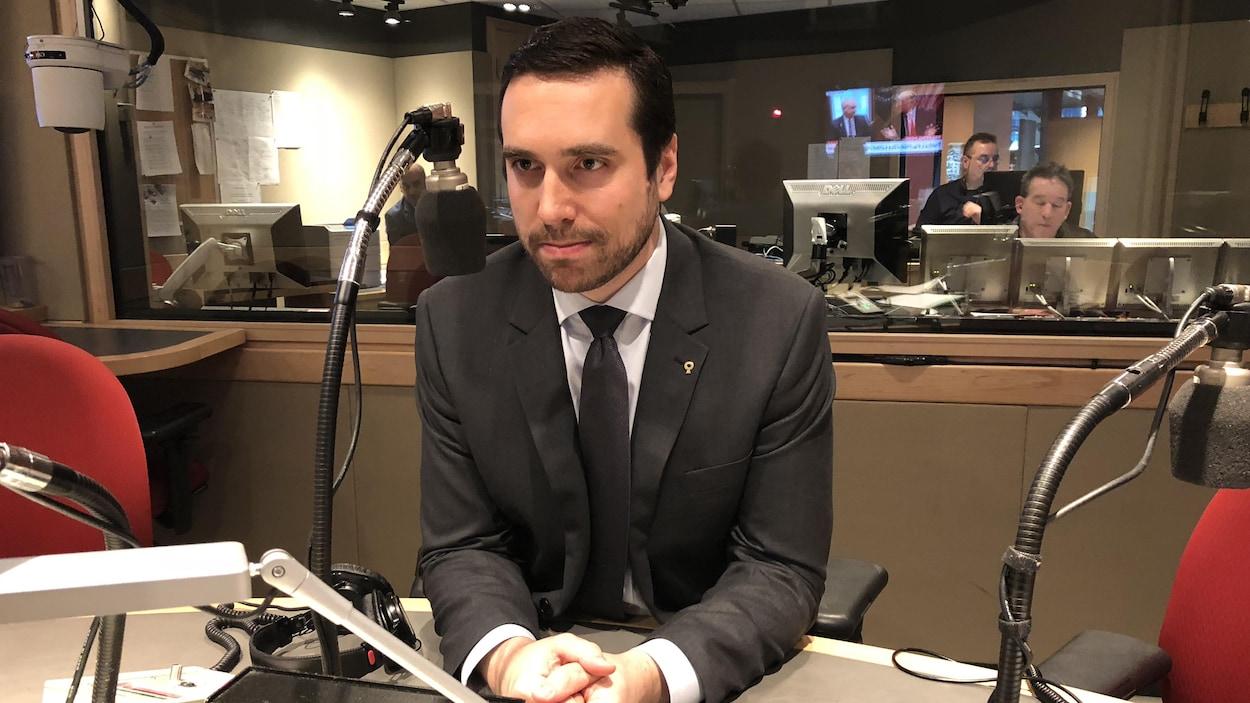 Le bâtonnier du Québec, Paul-Matthieu Grondin.