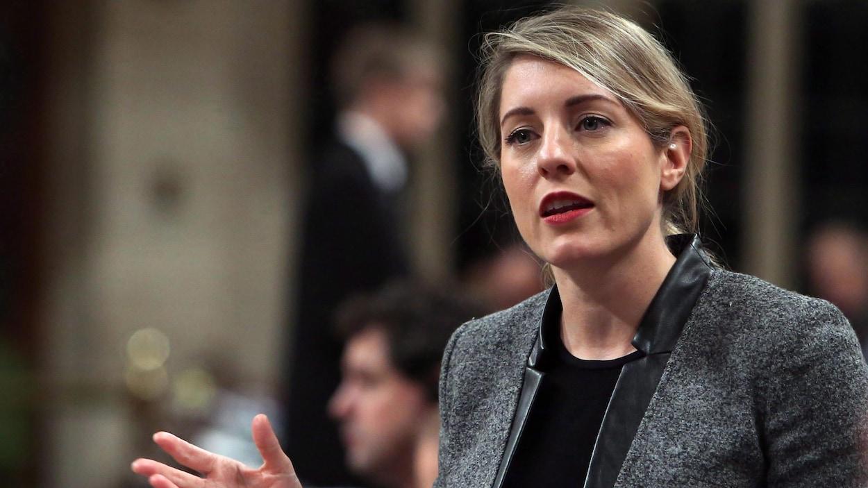 La ministre canadienne du Patrimoine, Mélanie Joly.