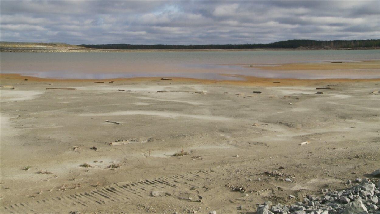 Site minier abandonné Manitou, près de Val-d'Or