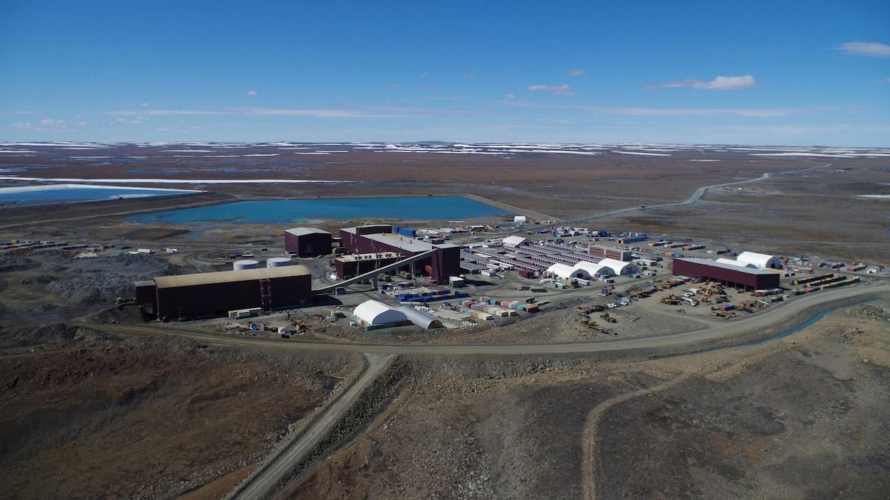 La mine Canadian Royalties, au Nunavik Photo: Facebook/Canadian Royalties