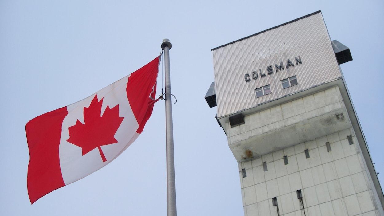 La mine Coleman, située à Levack, dans le Grand Sudbury.