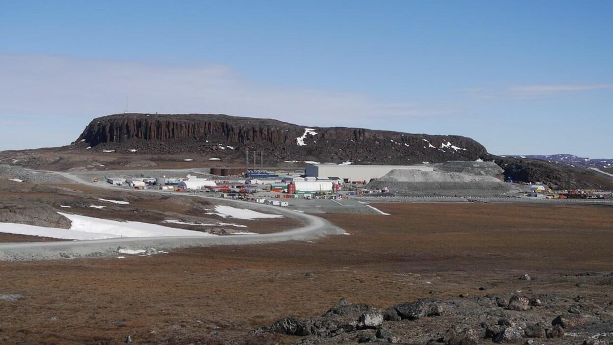 La mine d'or Hope Bay se trouve sur un immense terrain vague.