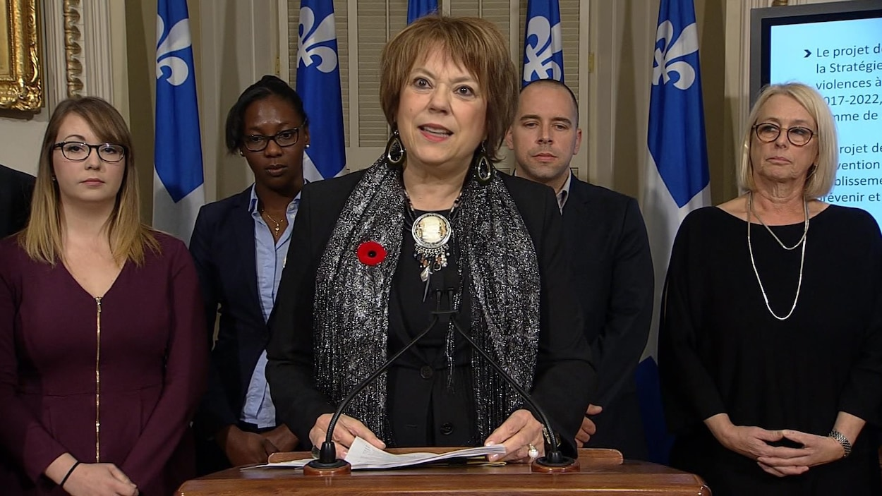 La ministre de l'Enseignement supérieur et de la Condition féminine, Hélène David