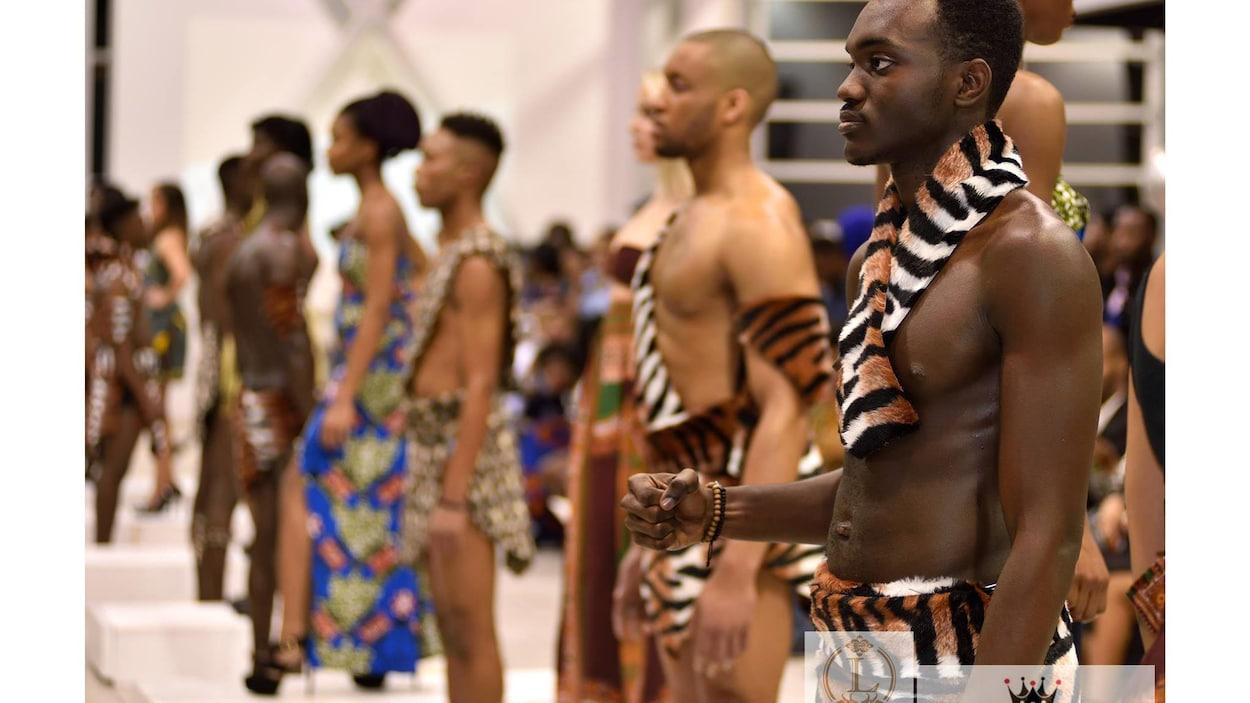 Image de la Semaine de la mode africaine à Edmonton en 2016