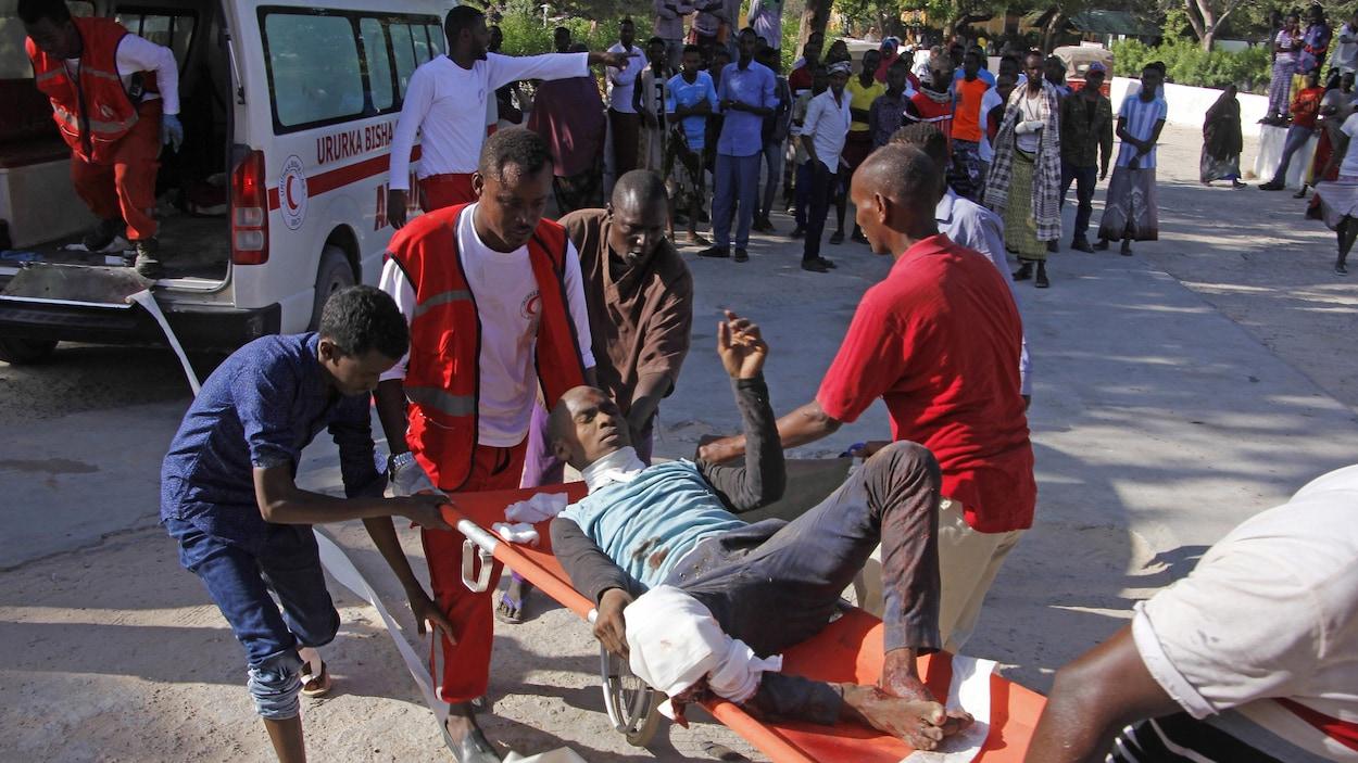 Un attentat fait au moins 76 morts dans la capitale Mogadiscio — Somalie