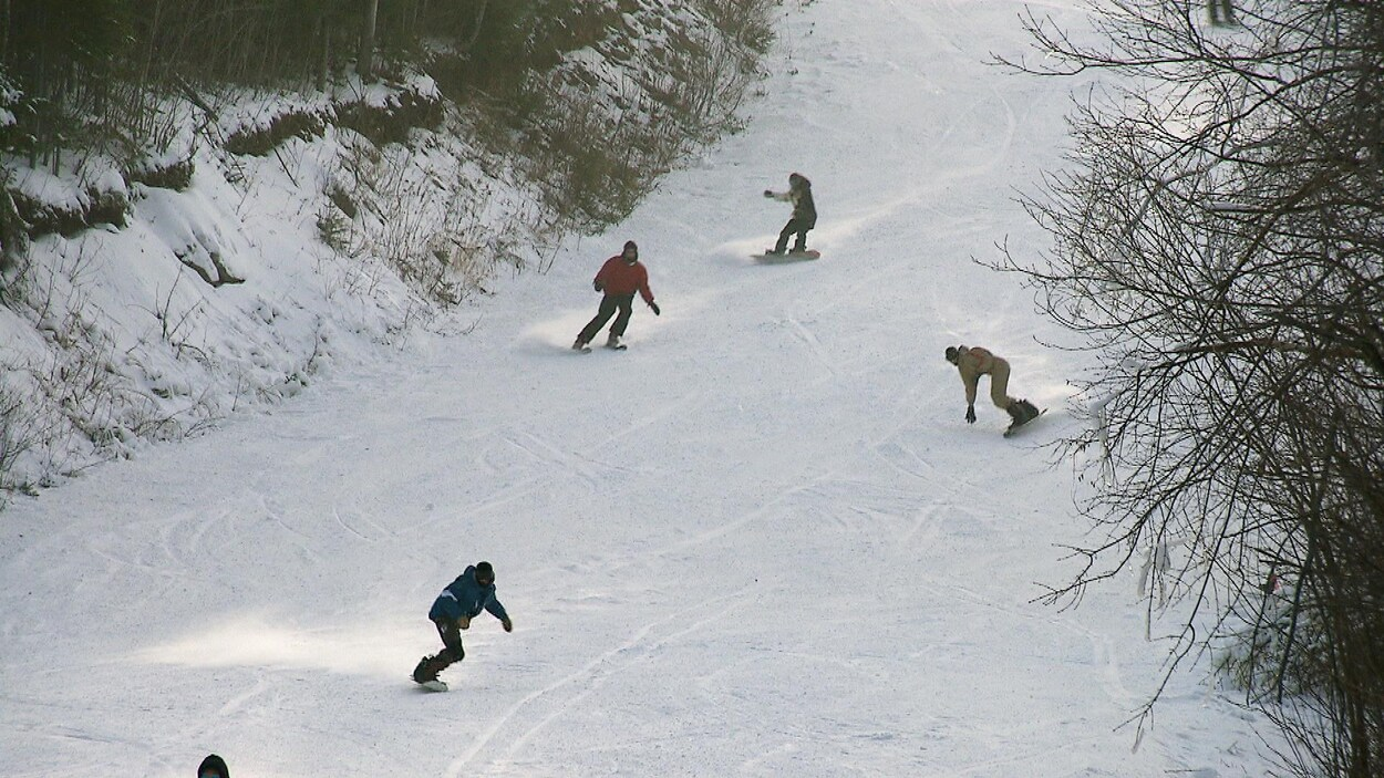 Journée d'ouverture au Parc du Mont-Saint-Mathieu.