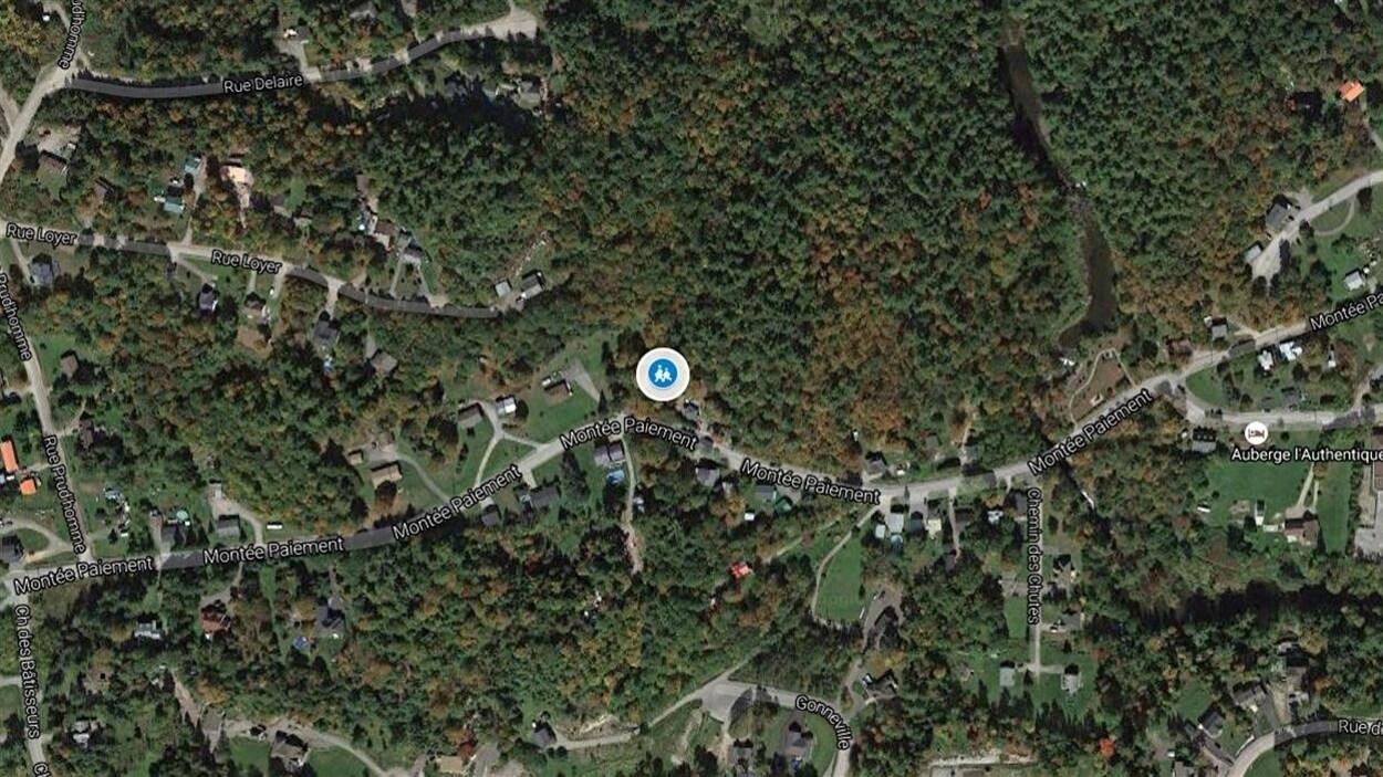 Le 2205, montée Paiement, à Val-des-Monts.
