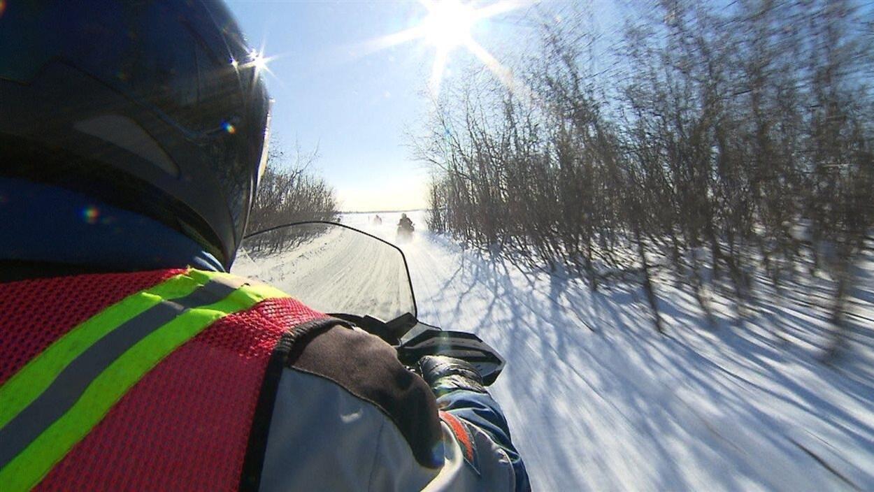 La Gaspésie demeure une destination prisée pour les motoneigistes