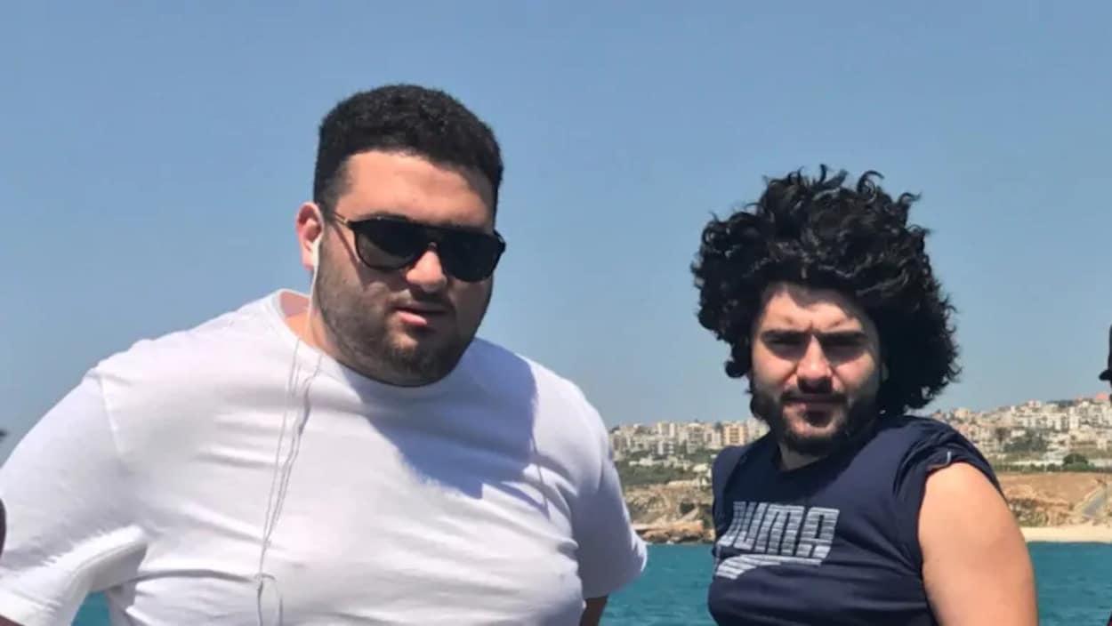 Mouhamed Serhan et Hamzeh Serhan.