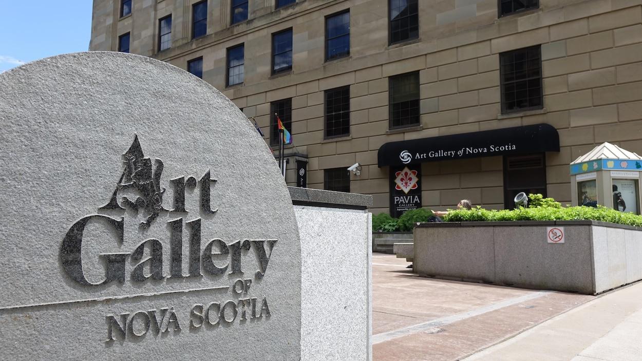 Le Musée des beaux-arts de la Nouvelle-Écosse à Halifax.