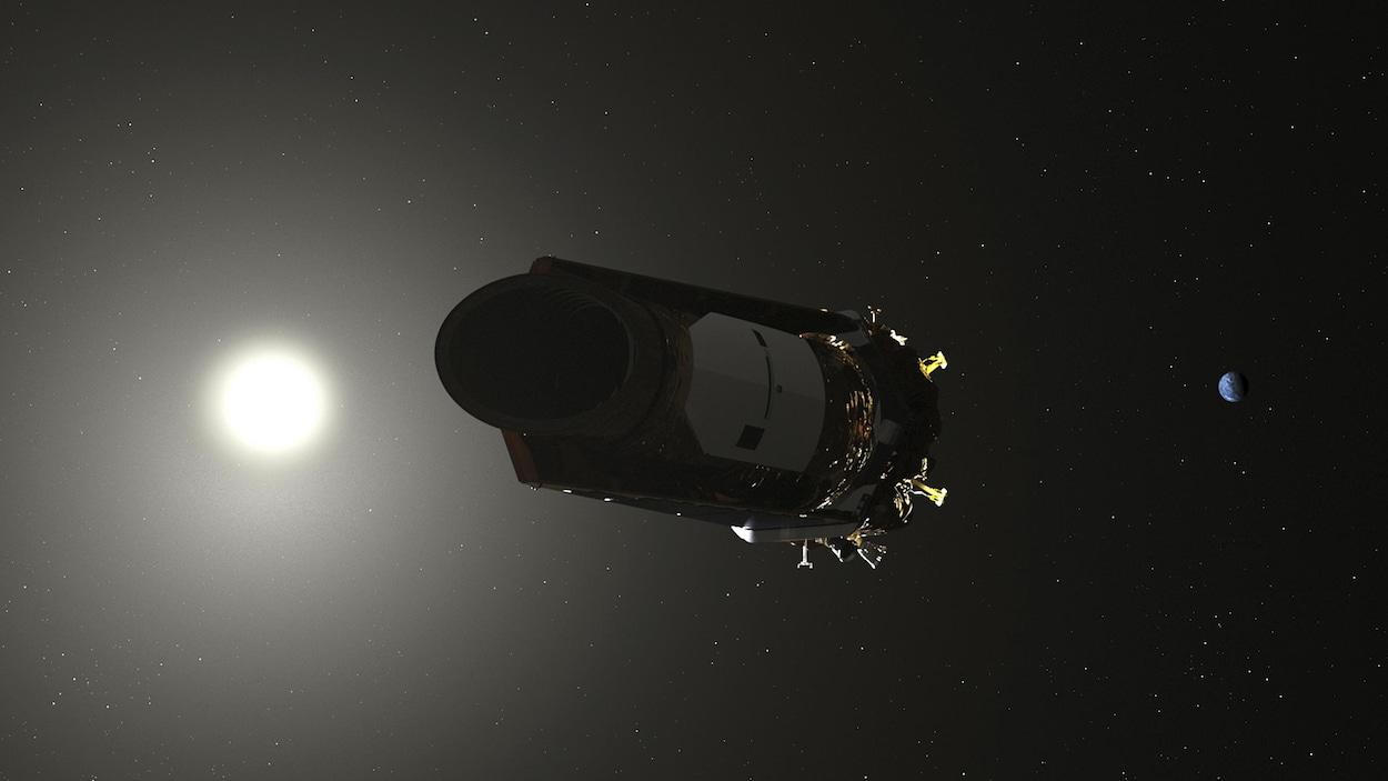 C'est la fin du télescope Kepler