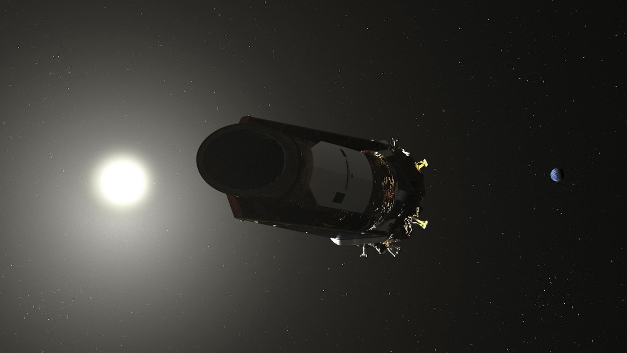 A sec, Kepler tire sa révérence